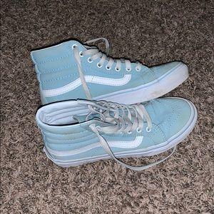 light blue vans
